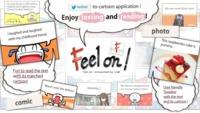 Feel On! te permite ver los tweets como si fueran viñetas de un cómic