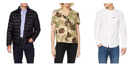 Ofertas en tallas sueltas de camisetas, chaquetas y polos Springfield, Superdry o Lee a la venta en Amazon