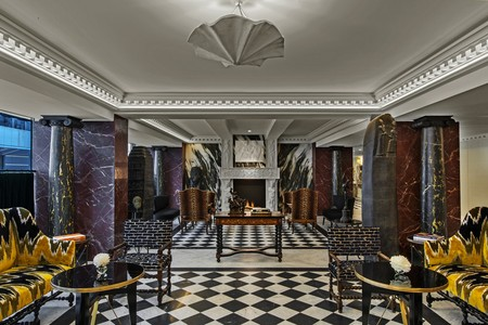 Lobby Hotel De Berri A Luxury Collection Hotel Paris