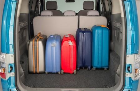 Nissan e-NV200 de pasajeros maletero