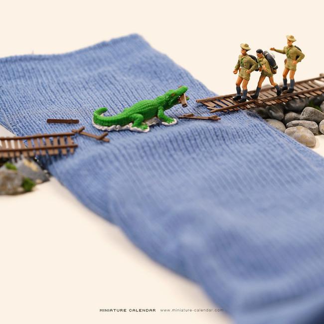 Miniature Calendar Tatsuya Tanaka 27