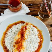 Pescado en salsa de chipotle. Receta mexicana sencilla