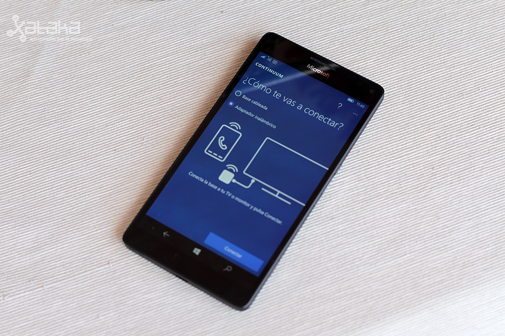 Lumia950xl Continuum 9