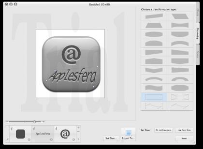 Diseñando un botón con Art Text