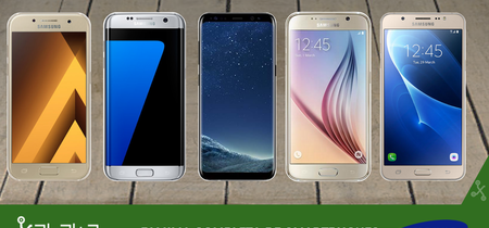 Samsung Galaxy S8 y S8+, así encajan dentro del catálogo completo de móviles Samsung