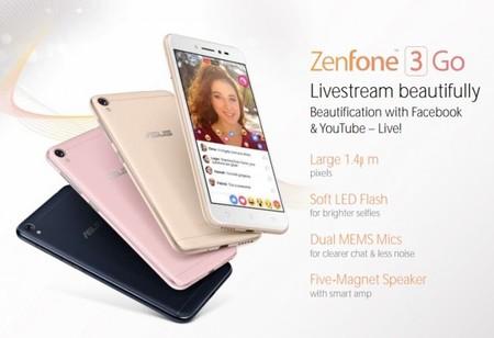 Asus Zenfone 3 Go, el hermano pequeño de la serie Zenfone 3 queda al descubierto