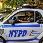 Adiós a los clásicos coches de policía de Nueva York, llegan los smart fortwo