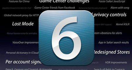 Todo listo para actualizar a iOS 6 en México