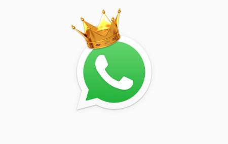 WhatsApp es el rey de la mensajería en Android