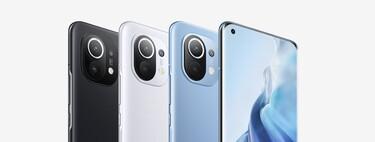 Comparativa del Xiaomi Mi 11: lo enfrentamos al Samsung Galaxy Note 20 Ultra, iPhone 12 Pro Max y los mejores gama alta de 2020