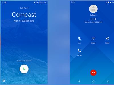 Google Phone trae nueva interfaz y funciones a la hora de hacer y recibir llamadas