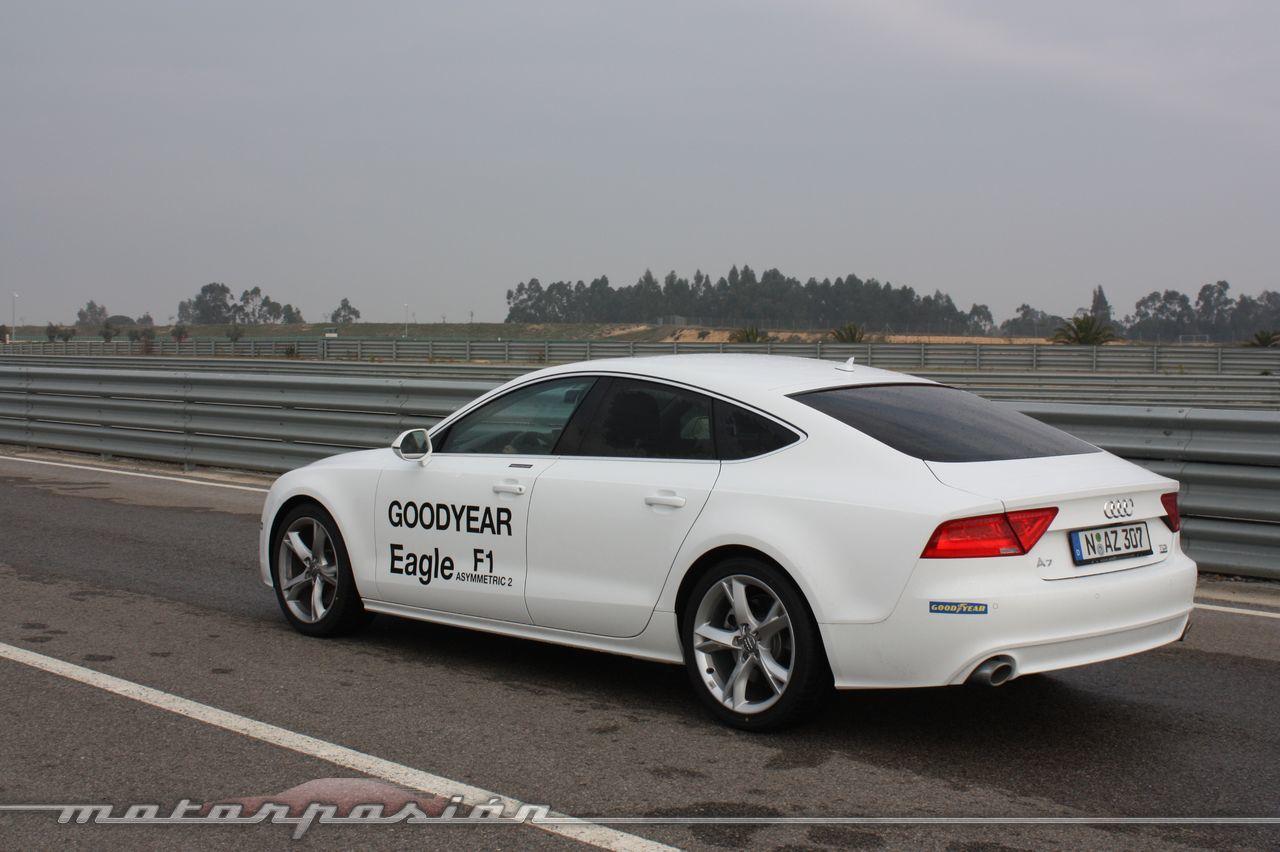 Foto de Goodyear Eagle F1: Audi TT RS, Audi A7 y Mercedes CLS (20/79)
