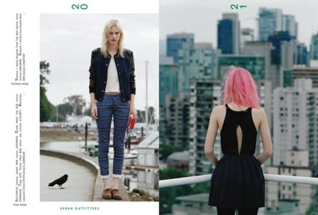 Punk Catálogo Urban Outfitters Invierno 2011