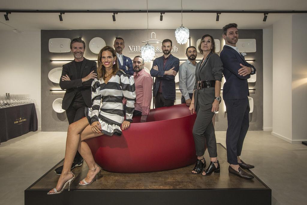 Figuras del diseño como Miriam Alía, Erico Navazo o Sara Folch colaboran en el diseño del nuevo showroom de Villeroy & Boch en Barcelona