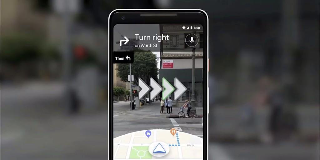 Así es como la navegación con realidad aumentada hace que Google Maps sea aún más útil