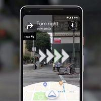 La nueva interfaz de Google Maps con realidad aumentada que va a cambiar la aplicación radicalmente