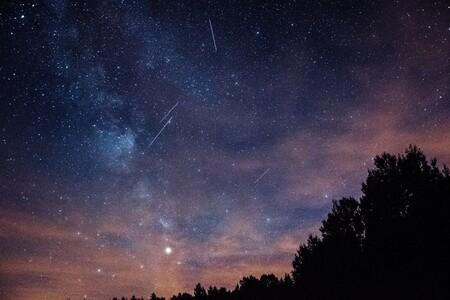 Perseidas Cielo Estrellado