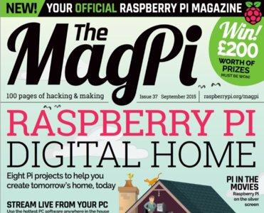The MagPi, la revista oficial de la Raspberry Pi, dedicada este mes al hogar digital