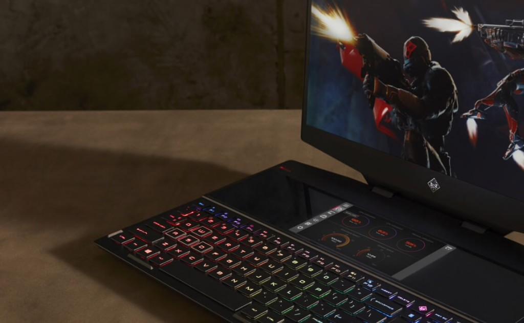 HP OMEN X 2S, este portátil para gaming tiene una pantalla táctil secundaria encima del teclado