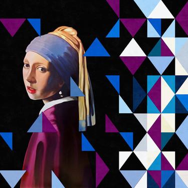 """""""Clasicismo y geometría"""", una maravillosa colección de arte para decorar espacios contemporáneos"""