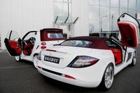 Pack completo: Brabus SLR McLaren Roadster con un Brabus Smart Ultimate 112 de regalo
