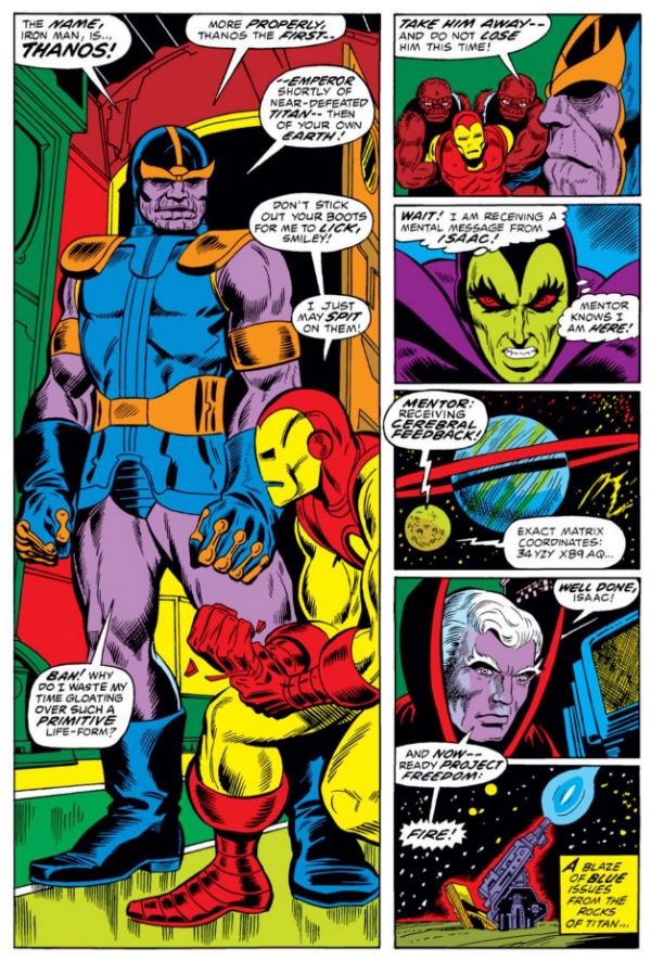 Primera Aparicion Thanos