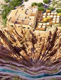 Pasarela al abismo: desafío al vértigo en el Gran Cañón