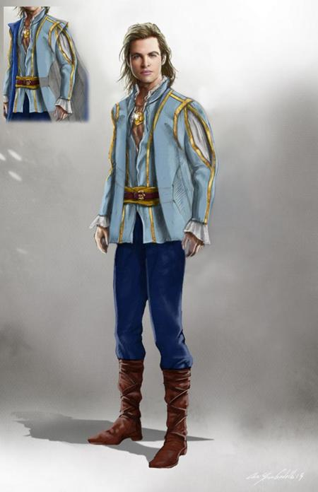 Into The Woods Cinderellas Prince Chris Finr1016