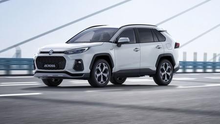 El Suzuki Across se presenta como un nuevo SUV más grande que Vitara, pero con corazón de Toyota