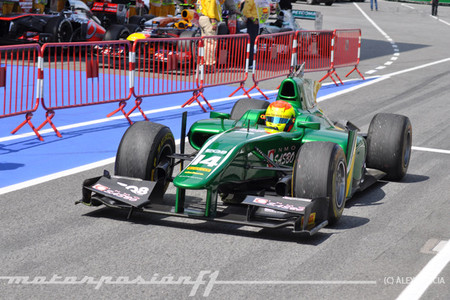 Sergio Canamasas GP2 Barcelona 2013
