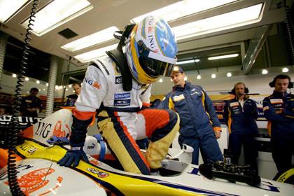 Las mejores imágenes del debut de Alonso