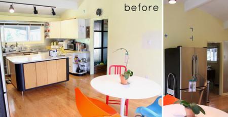 Antes y después: la cocina de Design Milk