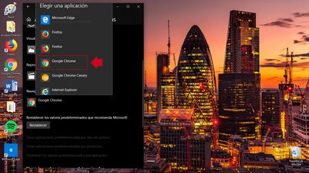 ¿No quieres usar Microsoft Edge por defecto en Windows 10? Así puedes configurar otro navegador diferente