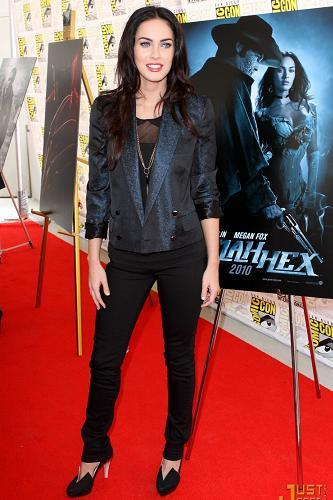megan fox comic con