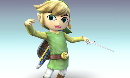 Toon Link en Super Smash Bros. Brawl