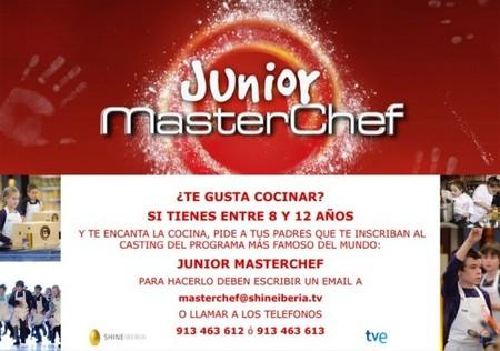 Arranca el casting para seleccionar a los niños que participarán en MasterChef Junior