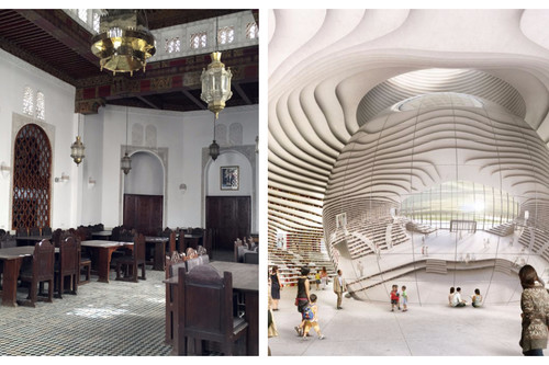 Dos bibliotecas que te encantará visitar: la más antigua y la más moderna del mundo