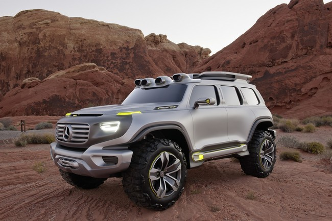 Mercedes-Benz Ener-G-Force todoterreno hidrógeno
