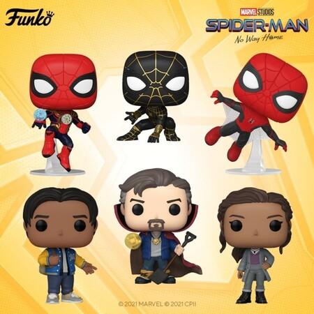 Preventa de los Funko POP Spider-Man No Way Home en México