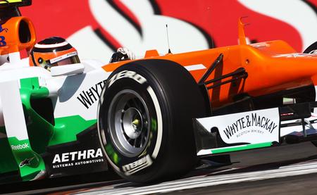 Nico Hulkenberg Force India Valencia 2012