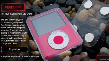Funda para iPod con imán