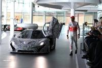 Jenson Button ya ha conducido el McLaren P1