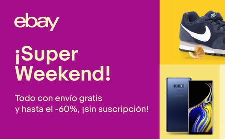 Las 14 mejores ofertas del Super Weekend de eBay: rebajas en móviles, televisores y tablets