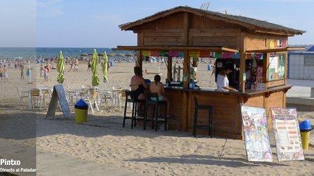 Los chiringuitos de nuestras playas