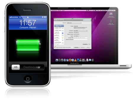 "Cómo activar o desactivar ""Compartir Internet"" del iPhone desde Mac OS X"