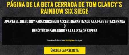 Beta Rainbow Six Siege