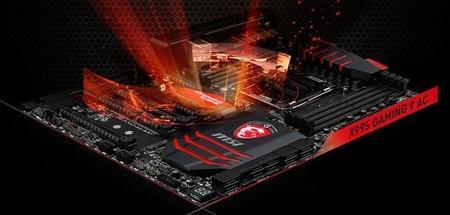MSI X99S Gaming 9 AC también se escabulle en imágenes