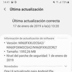 Foto 20 de 34 de la galería android-9-pie-con-one-ui-en-el-samsung-galaxy-note-9 en Xataka Android