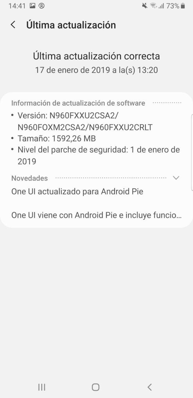 Foto de Android 9 Pie con One UI en el Samsung Galaxy Note 9 (20/34)