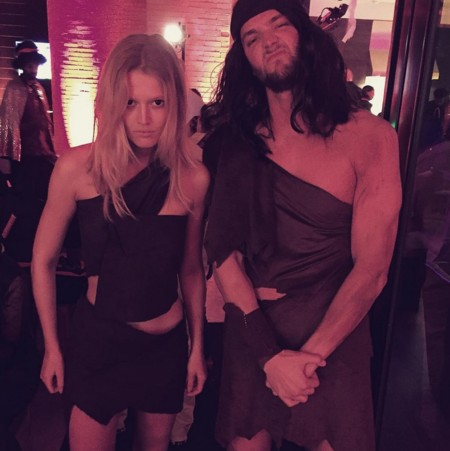 Halloween 2015 Celebrities Toni Garrn